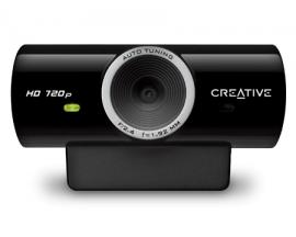 Live! Cam Sync HD cámara web 3 MP 1280 x 720 Pixeles USB 2.0 Negro - Imagen 1