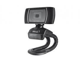 Trino HD Video Webcam cámara web 8 MP USB Negro - Imagen 1