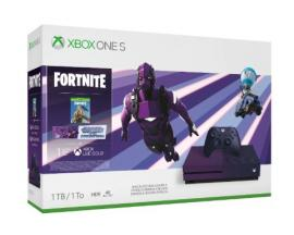 Xbox One S + Fortnite Battle Royale Púrpura 1000 GB Wifi - Imagen 1
