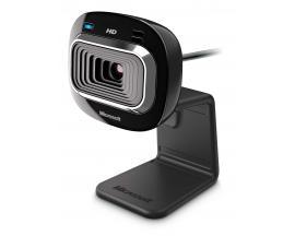 LifeCam HD-3000 cámara web 1 MP 1280 x 720 Pixeles USB 2.0 Negro - Imagen 1