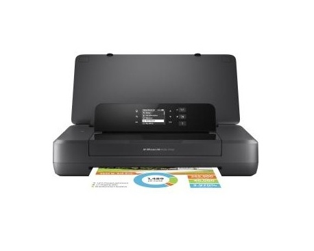 Impresora hp inyeccion officejet 200 color portatil a4/ 20ppm/ usb/ wifi - Imagen 1