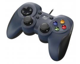 F310 Gamepad PC Negro, Azul, Multicolor - Imagen 1