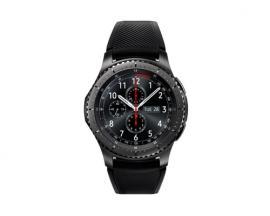"Samsung Gear S3 reloj inteligente Negro SAMOLED 3,3 cm (1.3"") GPS (satélite) - Imagen 1"